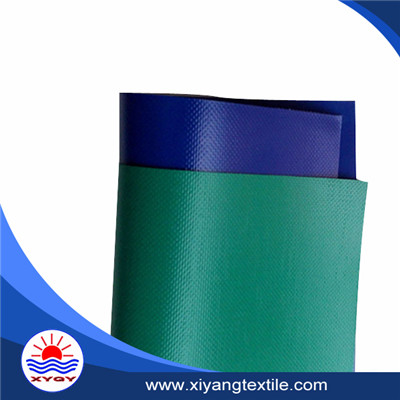 Waterproof 1000D coated pvc tarpaulin